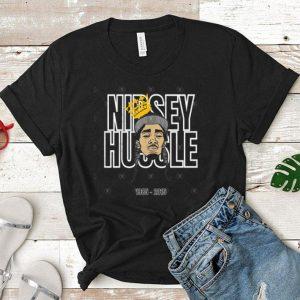 Nipsey Hussle Rip1985 2019 Respect Him shirt