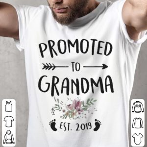 Promoted grandma Est 2019 shirt