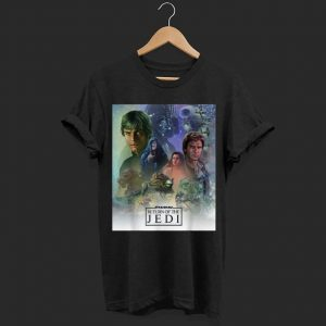 Star Wars Celebration Mural Return of the Jedi shirt