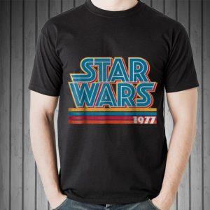 Star Wars Super Retro Striped Logo 1977 shirt