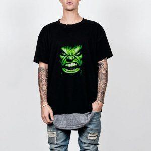 The Hulk Angry Face shirt