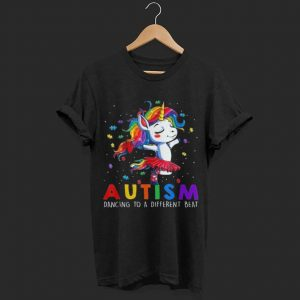 Unicorn Autism Mom Dancing To A Different Beat shirt