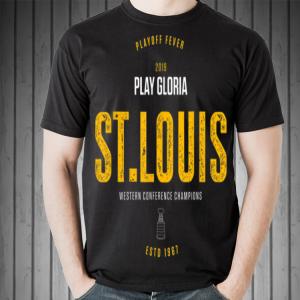Playoff Final Vintage Play Gloria St. Louis Hockey shirt