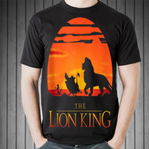Disney Lion King Classic Sunset Walk shirt