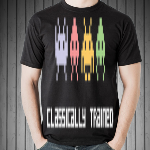Classically Trained 80s Video Games shirt