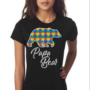 Bear Autism Puzzle Awareness shirt 2