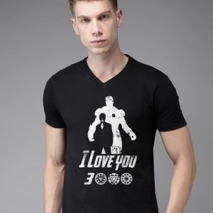 Dad I Love You 3000 Iron Man Father's Day shirt