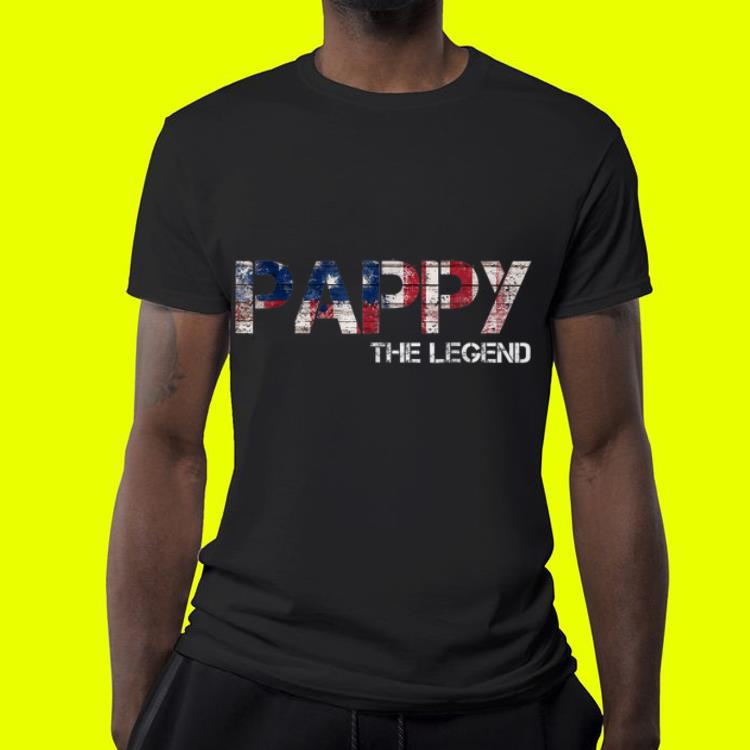 Father Day Pappy The Legend American shirt 4 1 - Father Day Pappy The Legend American shirt