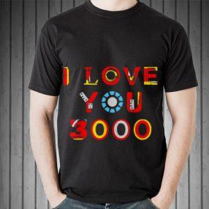 I Love You 3000 Dad armour iron man style shirt
