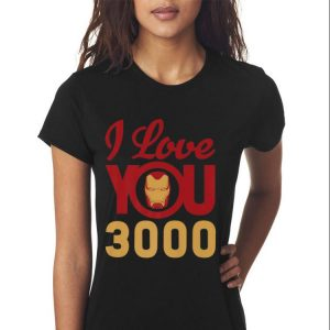 663bd536 Sale! Marvel Avengers Endgame Iron Man I Love You 3000 Helmet shirt