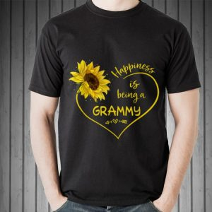 Mother Day Happiness Is Being A grammy Sunflower Heart shirt