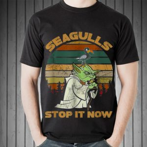 Seagulls Stop It Now Bird Vintage shirt