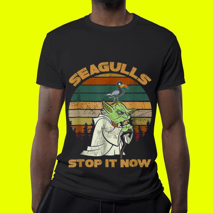 Seagulls Stop It Now Bird Vintage shirt 4 - Seagulls Stop It Now Bird Vintage shirt