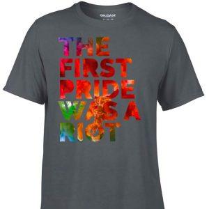 The first pride wasa riot shirt