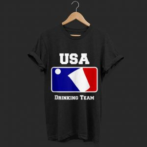 USA Drinking Team Party Beer Pong Game shirt