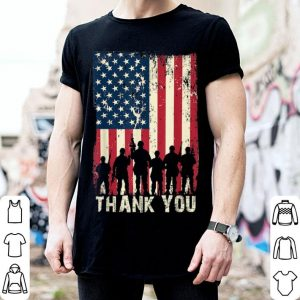 4th Of July American Flag Independence Day Thank You Veteran shirt