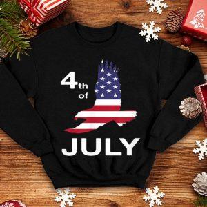 4th Of July American Flag Soaring Flying Eagle shirt