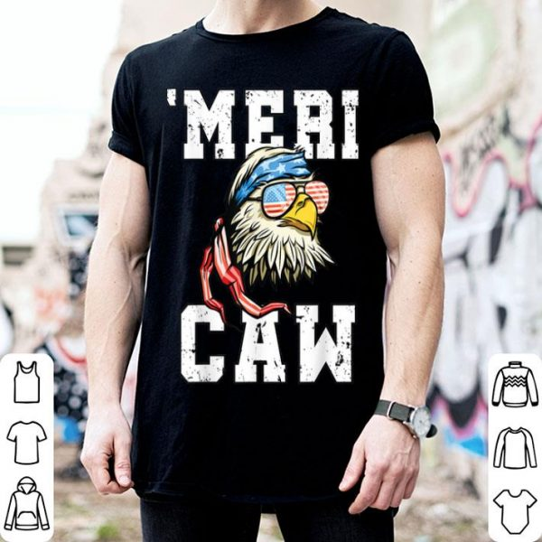 4th Of July Bald Eagle Mericaw Merica USA American Flag shirt