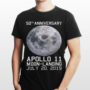 50th Anniversary Apollo 11 Moon Landing Space Mission Usa shirt