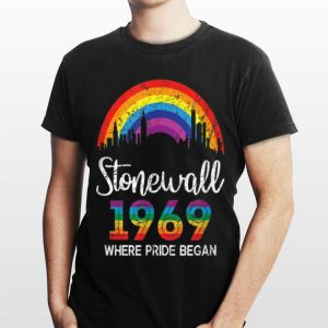 90's Style Stonewall Where Pride Began Lbgt 1969 shirt