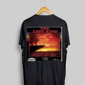 Disney Lion King HI-FI Simba Movie Cover shirt