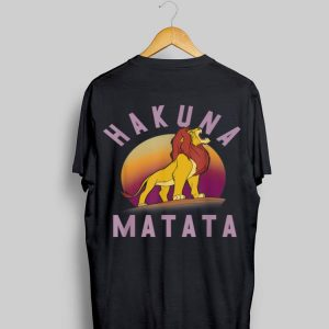 Disney Lion King Simba Hakuna Matata shirt