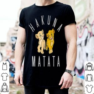 Disney Lion King Simba Nala Hakuna Matata shirt