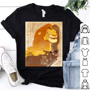 Disney Lion King Simba Timon Pumbaa Texture Poster shirt