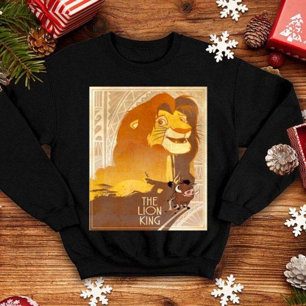 Disney Lion King Simba Timon Pumbaa Texture Poster shirt