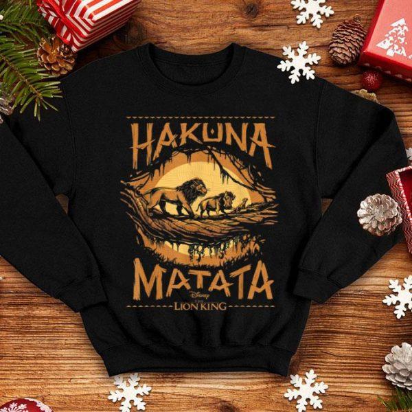 Disney The Lion King Live Action Hakuna Matata Sunset shirt