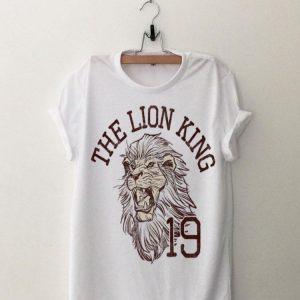 Disney The Lion King Simba Varsity Text shirt