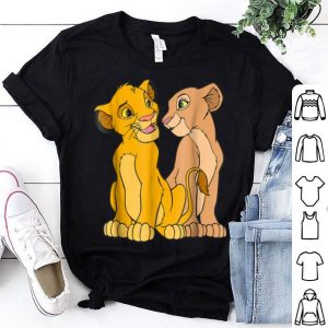 Disney The Lion King Young Simba and Nala Together shirt