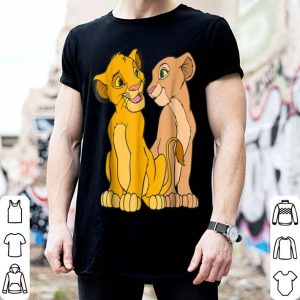 Disney The Lion King Young Simba and Nala Together shirt
