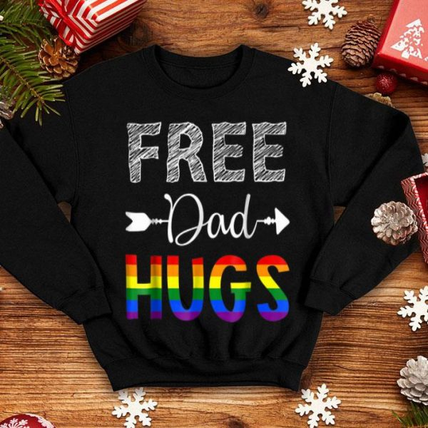 Free Dad Hugs Father Day shirt