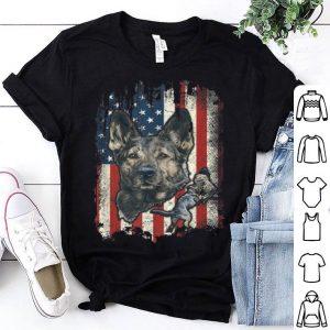 German Shepherd American Flag Usa Patriotic Dog Lover shirt