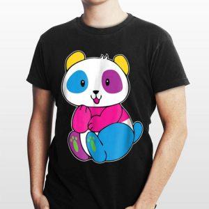 I'M Pan Duh Pansexual Panda Rainbow LGBT Pride shirt