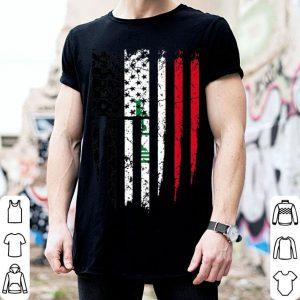 Iraqi American Iraq America Flag shirt