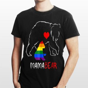 LGBT Mom Mama Bear S Mothers Rainbow shirt