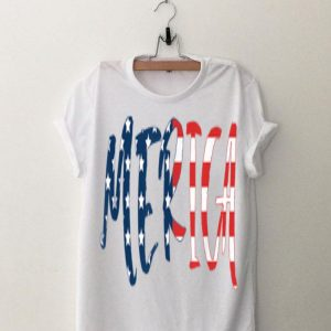 Merica USA American Flag Day 4th of July for Men Women Kids shirt