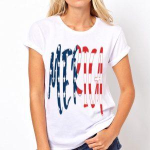 Merica USA American Flag Day 4th of July for Men Women Kids shirt