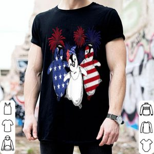 Penguin Celebrated American Independence Day shirt