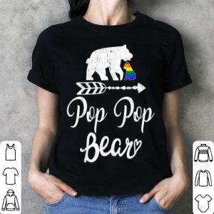 Pop Pop Bear LGBT Rainbow Pride Gay shirt