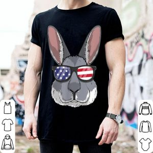 Rabbit Bunny Patriotic Usa 4th Of July American shirt