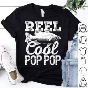 Reel Cool Pop Pop Fishing Angler shirt