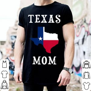 Texas Mom State Flag Silhouette United States Mother Mommy shirt