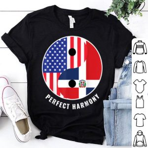 USA Dominican Republic Ying Yang Heritage Proud American shirt
