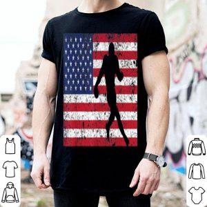 Usa American Flag Football Rugby Player shirt