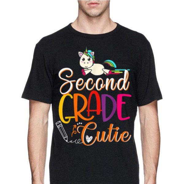 2nd Grade Cutie First Day Of School Kids shirt