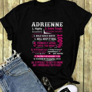 Adrienne Highly Eccentric 10 Facts long sleeve