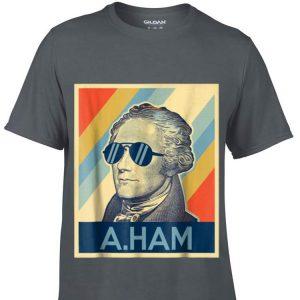 Alexander Hamilton Wearing Sunglass Retro Sweater
